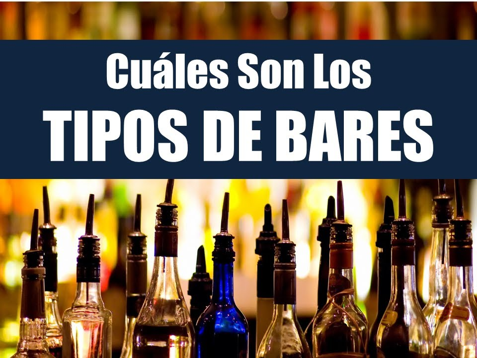 Tipos de bares curso como iniciar tu bar youtube for Tipos de licencias para bares