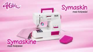 Symaskine med fodpedal - instruktion (68265)