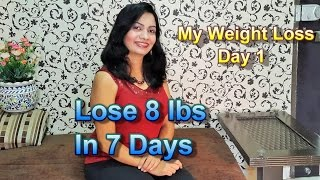 Weight Loss Program | G.M.Diet Day1 | Lose 8 lbs in 7 days | Healthy Recipes
