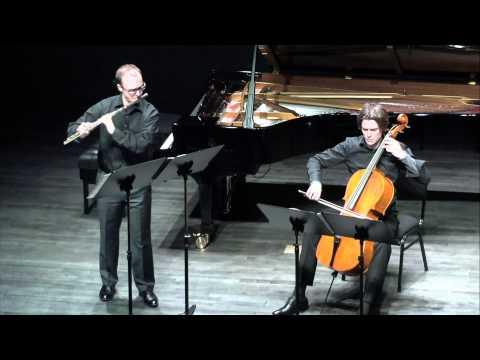 PHILIPP JUNDT & SEBASTIAN KLINGER play Villa-Lobos Assobio a Játo for Flute and Cello