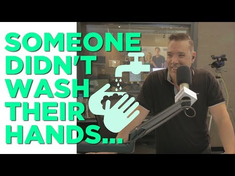 In-Studio Videos - Someone Didn't Wash Their Hands...OR DID THEY?