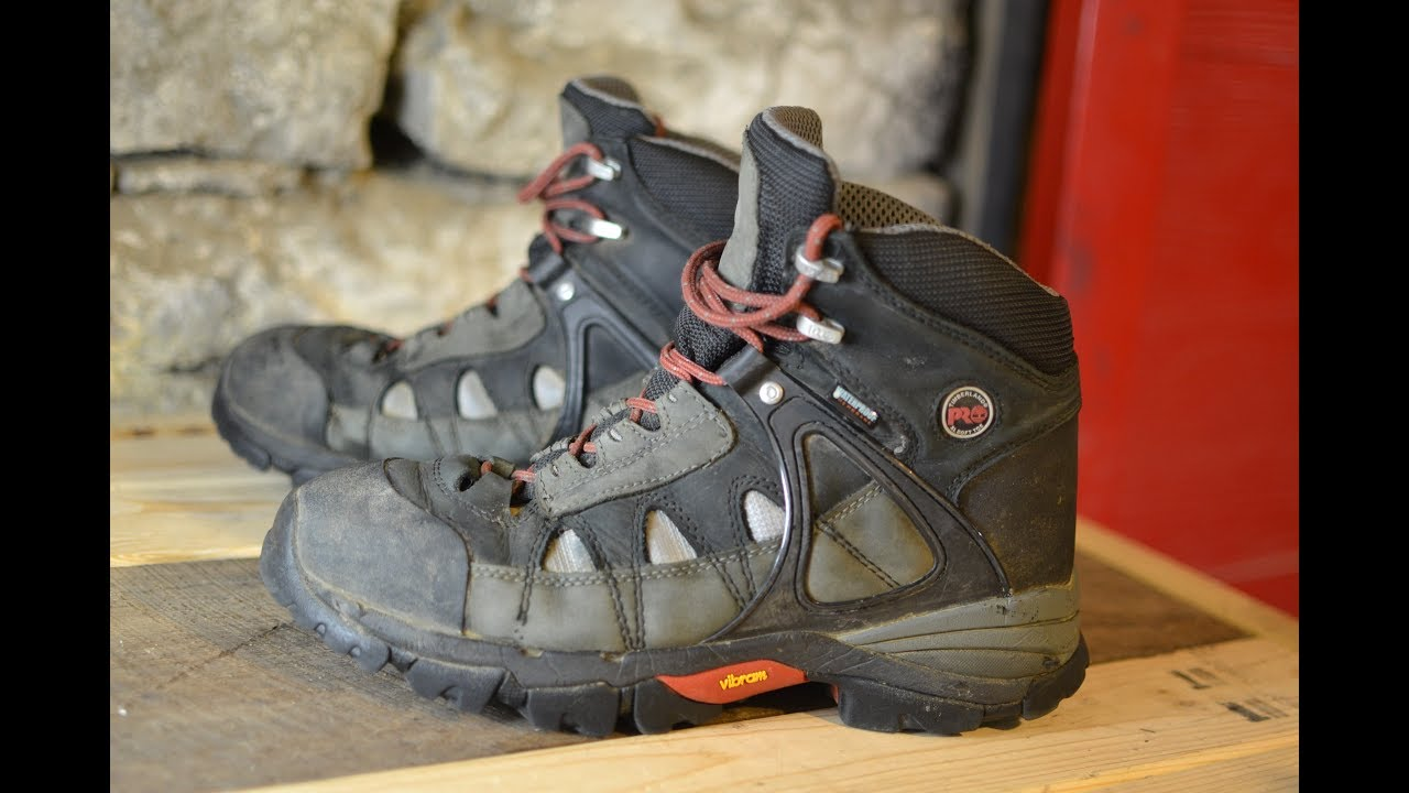 15e209026f9 Most Comfortable Work Boots Ever! Timberland Pro Hyperion Review