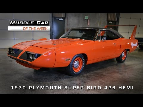 Muscle Car Of The Week Video #57: 1970 Plymouth Superbird 426 Hemi
