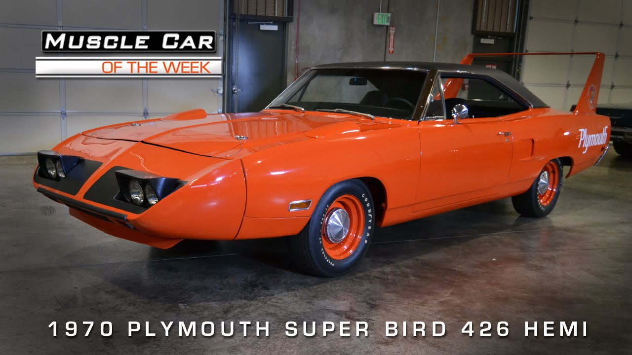 Muscle Car Of The Week Video Plymouth Superbird Hemi