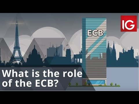What is the role of the European Central Bank? | IG Explainers