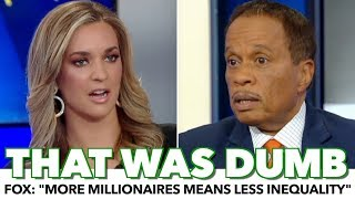 Fox Host: 'More Billionaires Means Less Inequality'