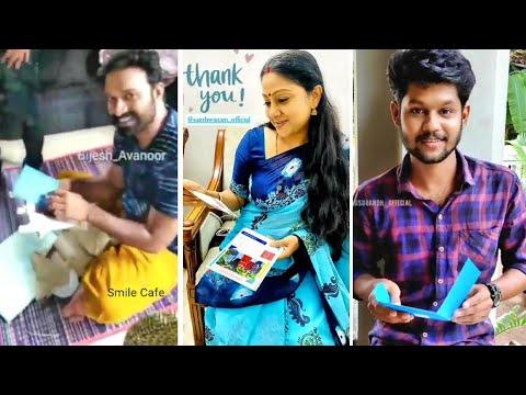 സ്വാന്തനം ടീമിന് സർപ്രൈസുമായി ആരാധകൻ || Santhwanam Surprise Gift