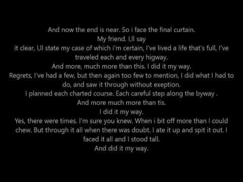 My way - Seth MacFarlane