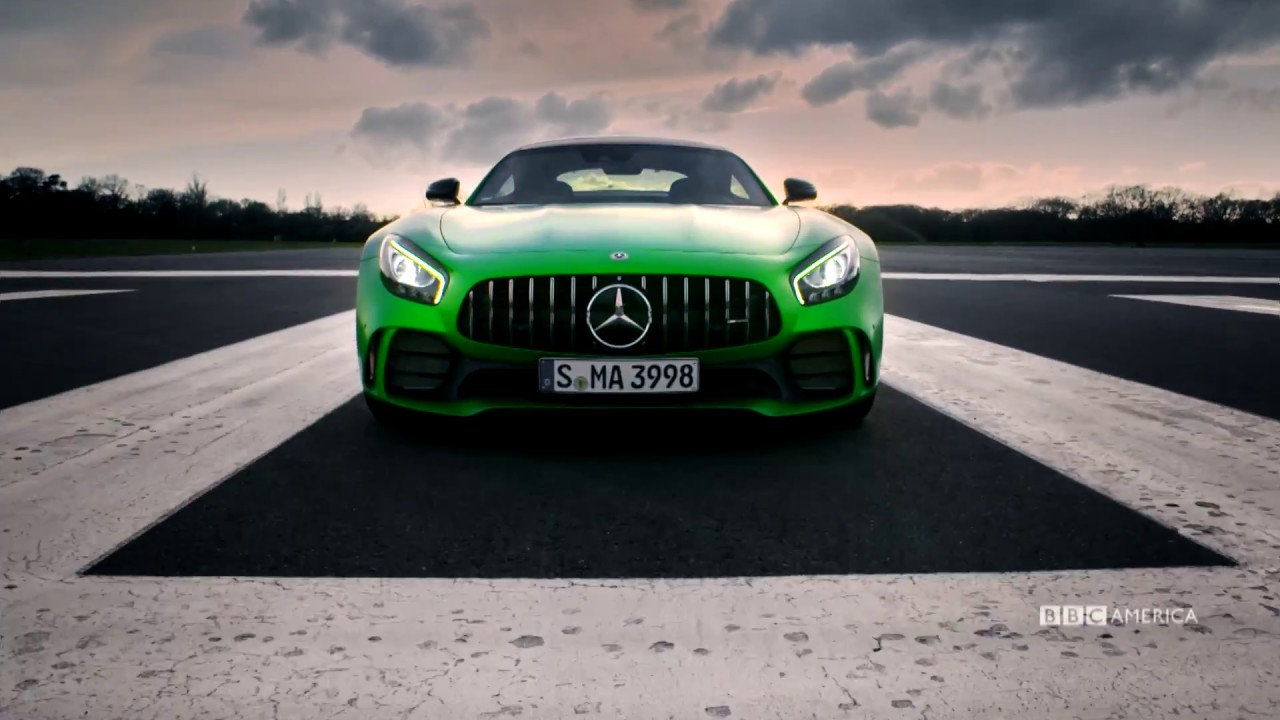Hulk Mode With The Mercedes Amg Gt R Top Gear Ep 5 Sundays 8 7c On Bbc America