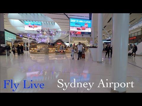 Sydney International Airport Walk (Natural Sound)