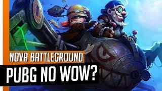 PUBG em WORLD OF WARCRAFT? Nova Battleground ÉPICA!