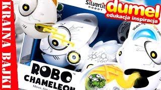 ROBOT CHAMELEON  Poznaj uroczego i baaardzo głodnego jaszczura od DUMEL  SILVLERLIT