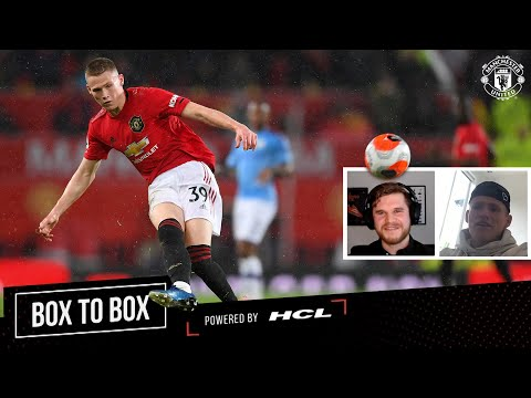 How to be a Box to Box Midfielder | Scott McTominay & Statman Dave | Box to Box | Manchester United