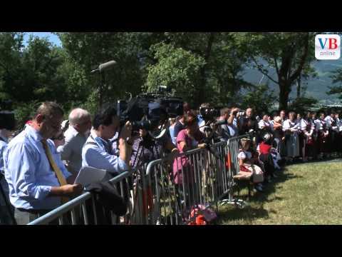 Staatsfeiertag 2012: Interviews mit der Regierung
