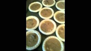 Monica's 12 Days Of Christmas - Day #12- Last Day!-butter Tarts!