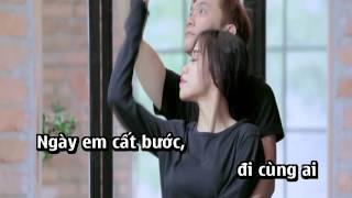 Karaoke | Đừng Bắt Anh Mạnh Mẽ - Hồ Quang Hiếu