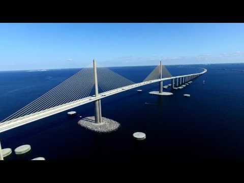 Sunshine Skyway Bridge - St Petersburg, FL
