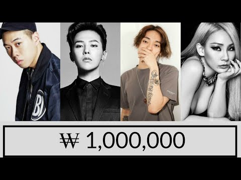 Okasian - ₩ 1,000,000 - LYRICS [ROM|COLOR CODED] (feat. G-DRAGON, BEWHY, CL)