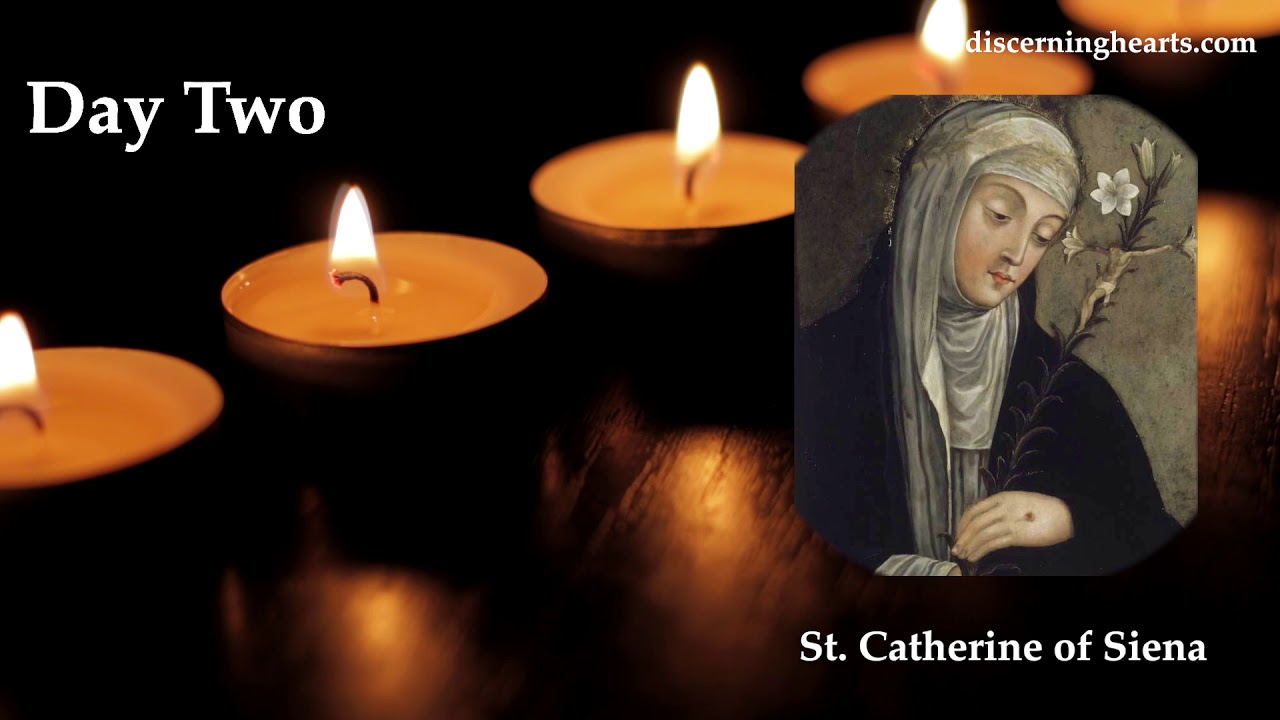 Novena to St. Catherine of Siena - Day Two - YouTube