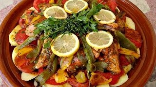 How to make Moroccan Fish Tagine
