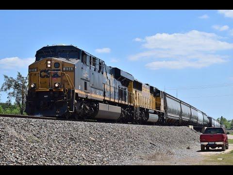 Railfanning Alvin, TX 4/23/16 feat a CSX GEVO