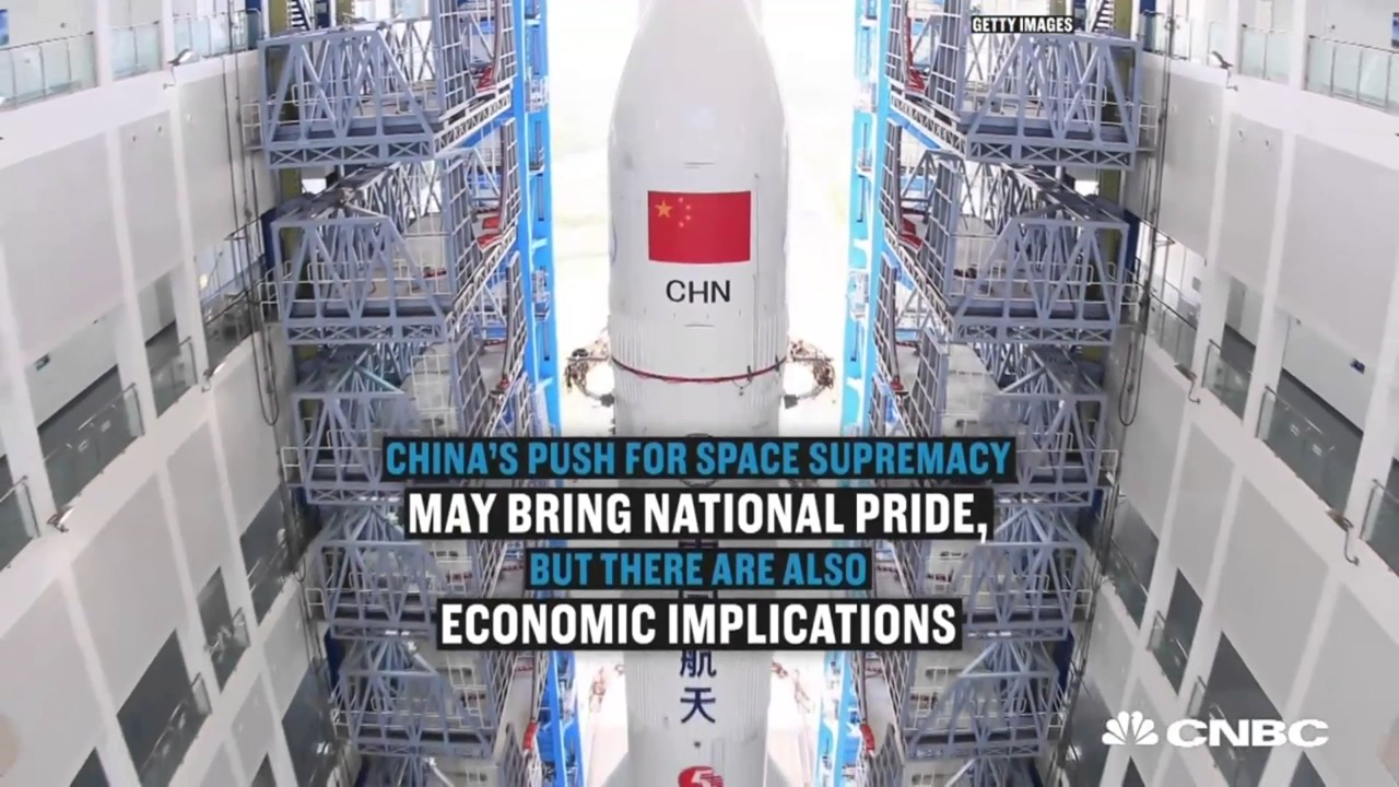 China's secret plan to crush SpaceX and the US space program (4 K ...