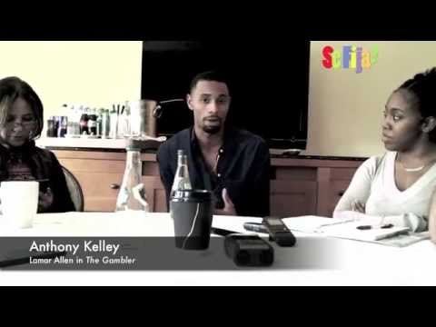 "Anthony Kelley in a Snippet of ""The Gambler"" Press Junket"