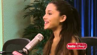"Ariana Grande ""The Way"" on Radio Disney"