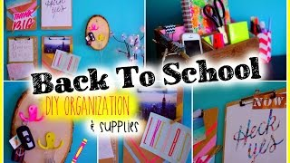 Back to School: DIY Organization & Supplies Thumbnail