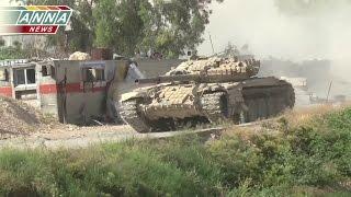 Операция Сирийской армии в Джобаре (р-н Дамаска). Точечная зачистка частного сектора
