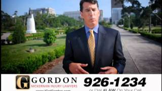 Louisiana Big Truck Wreck Attorney Gordon McKernan | Get Gordon!  I Am Pleased!