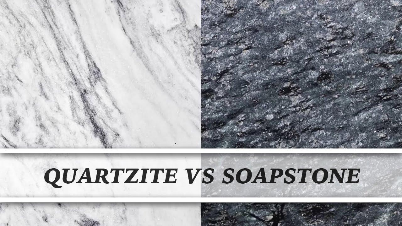 Quartzite Vs Soapstone | Countertop Comparison