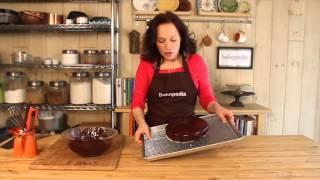 How To Glaze A Cake With Chocolate Ganache