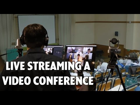 How to use Video Conferencing Software (Skype or Zoom) in Wirecast to host a live talk show