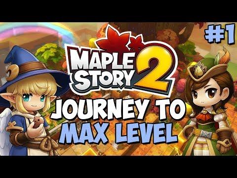 Maplestory 2 - Journey To Level Cap: Episode 1
