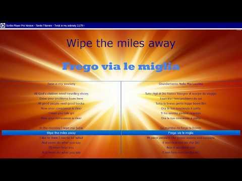 Tanita Tikaram   Twist in my sobriety - traduzione in italiano con testo originale in parallelo
