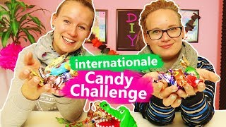 Candy CHALLENGE mit internationalen Süßigkeiten   Ukraine, Russland, Türkei?   Eva & Kathi & Kroko