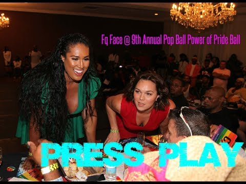 Fq Face @ 9th Annual Pop Ball Power of Pride Ball