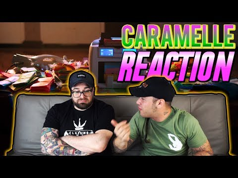 DARK POLO GANG - CARAMELLE Feat. MARÏNA (Prod. by Sick Luke) | RAP REACTION | ARCADEBOYZ