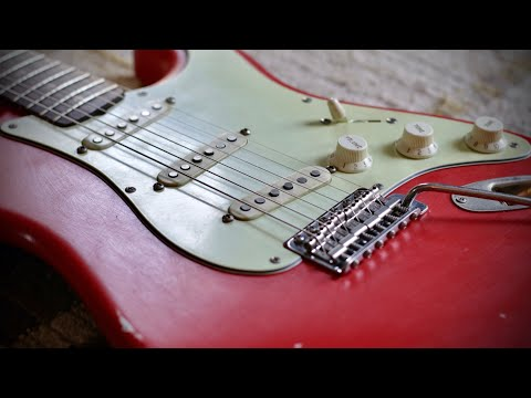 Lust For Tone 'Holy Relic' Strat With Montereys Set