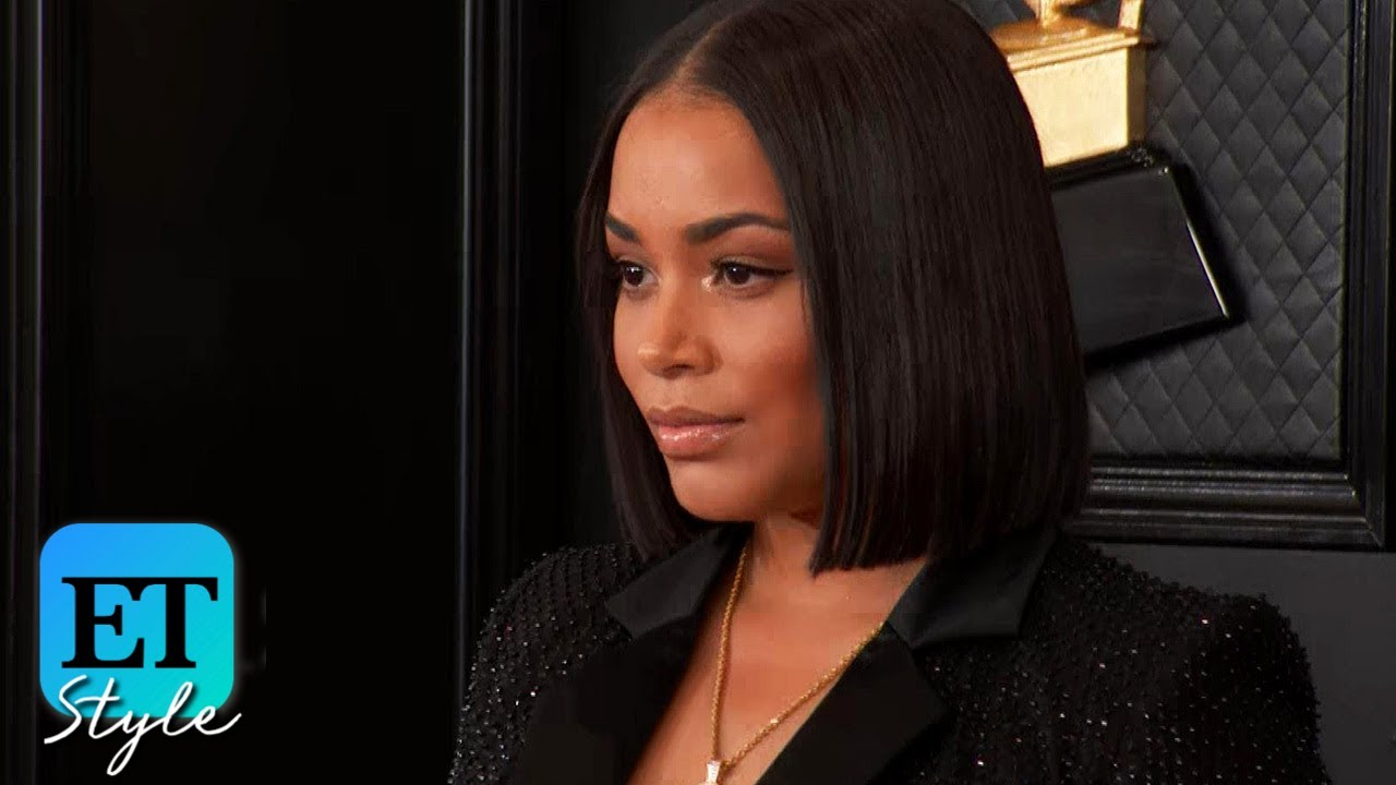 Lauren London Pays Tribute to Nipsey Hussle on the Red Carpet | GRAMMYs 2020