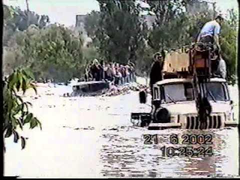 Наводнение 21.06.2002 г. г. Невинномысск. Ставрополье.