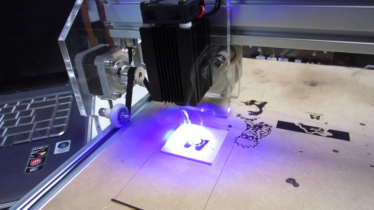 Laser Engraver 2 5w A5: 3 Steps