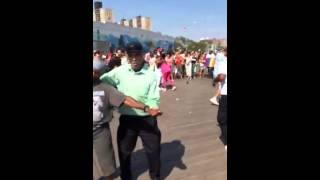 Coney Island New York Hustle Dance