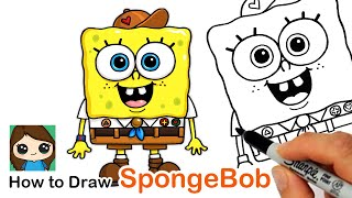 How to Draw Young SpongeBob | Kamp Koral
