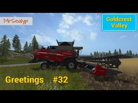 Let's Play Farming Simulator 17 PS4: Goldcrest Valley Greetings, #32