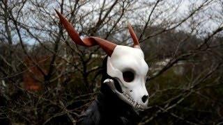 Completed Custom Skull Mask