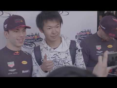 F1 2019 - Red Bull demo with Verstappen and Gasly in Tokyo