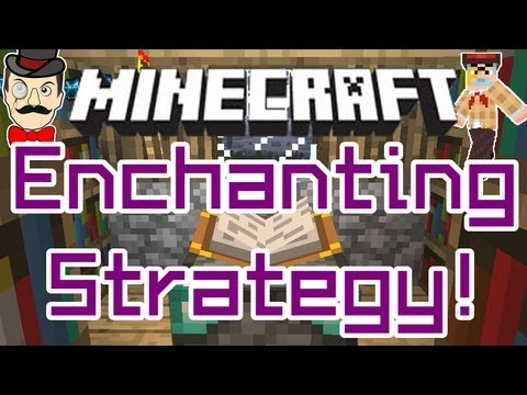 Minecraft 19 ENCHANTMENT Strategy How To Spend Experience Levels For Best Results