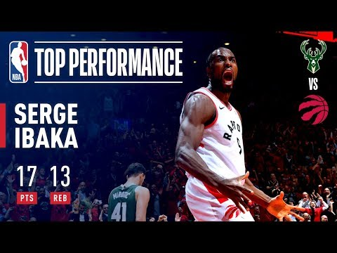 Serge Ibaka Provides a Spark Off the Bench! | Eastern Conference Finals